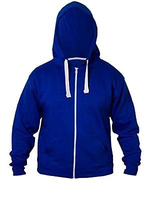 FASHIONCHIC Girls Boys Kids Unisex Plain Zip up Full Sleeve 2 Pocket Fleece Hoodie Cardigan Top Size 2 3 4 5 6 7 8 9 10 11 12 13 Year ** 15 Colors ** : everything £5 (or less!)