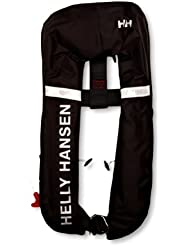 Helly Hansen Inflatable Lifejacket - Chaleco unisex, color negro, talla única