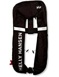 Helly Hansen Inflatable Lifejacket - Chaleco unisex, color negro, talla única