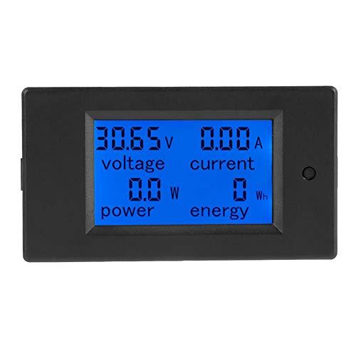 Aramox Digital Multimeter Digital LCD Voltmeter DC 6,5-100 V Stromzähler Elektrische Energie Energie Volt Meter, 50 / 100A Shunt(100A Current Shunt) Dc Digital-multimeter