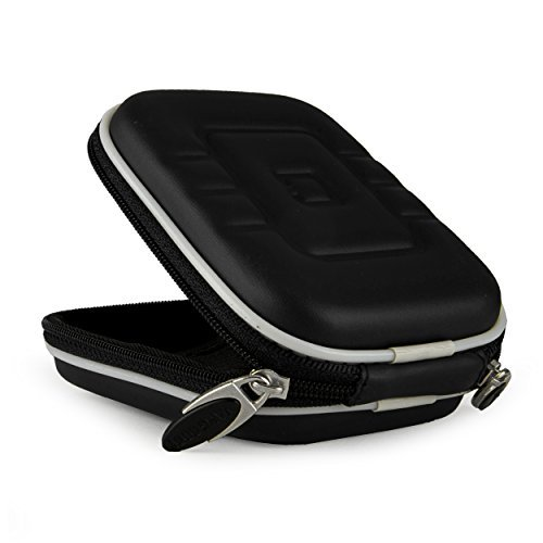 Compact Slim EVA Camera Case for Sony Cyber-shot DSC-W800 WX350 W830 W810 WX300 WX80 W730 W710 WX150 W690 WX50 WX70 W610 W620 W650 Point and Shoot Digital Cameras (Black)  available at amazon for Rs.2343