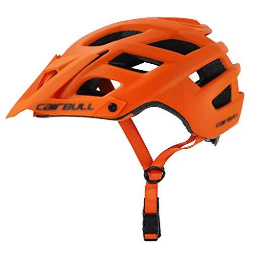 CXQBYNN Fahrradhelm, Ultraleichter Mountainbike-Helm für Damen und Herren, Jugendreiten, Verstellbarer Riemen und Zifferblatt - Leichtes Gesamtprofil mit Abnehmbarer...