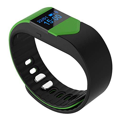OPAKY Smart Armband Pulsuhr Wasserdichte Bluetooth Smart Uhr für Kinder, Damen, Männer