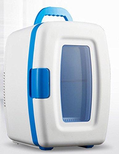 XW 10L Liter Auto Dual-Use-Auto Mini-Kühlschrank , White,white