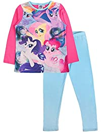 Kids Girls My Little Pony Pyjamas Pj's Set Childrens Size UK 1-10 Years