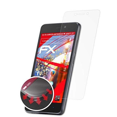 atFolix Schutzfolie passend für ZTE Blade A452 Folie, entspiegelnde & Flexible FX Bildschirmschutzfolie (3X)