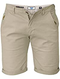 D555 - Short chino stretch beige - D555 grande taille homme - Beige
