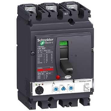 SCHNEIDER ELEC PBT - PAC 05 02 - INTERRUPTOR ELECTRONICO MICROLOGIC 2 2-M 50A 3 POLOS 3R