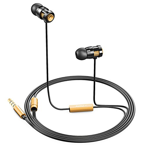 Aukey® Auriculares In-Ear con jack de 3,5 mm