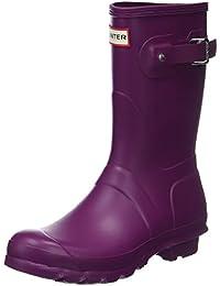 Hunter WomenS Original Short Mid-Calf Rubber Rain Boot