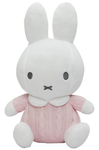 Miffy Plush - Pink Knitted - 14cm 5.5""