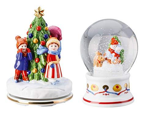 Hutschenreuther Weihnachten limitiertes Set 2018 Spieluhr und Schneekugel 02451-725434-27411 + 02372-727052-27560