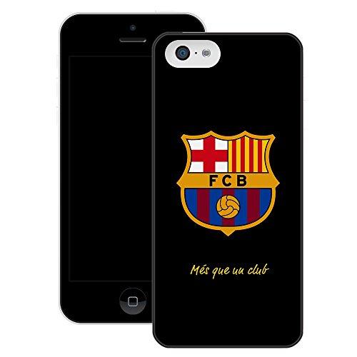 FC Barcelone | Fait à la main | iPhone 5C | Etui / Housse noir |