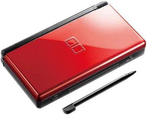 Nintendo DS - Konsole Lite #Crimson Red Black (Lite Ds-konsole)