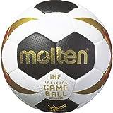 Molten Deutschland WM 2017 Damen Handball H1X3200-W7G Replika Größe 0 Weiß/Schwarz/Gold/Rot, Größe 0