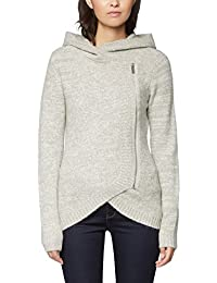 Bench Damen Strickjacke Asymmetric Zip Jacket