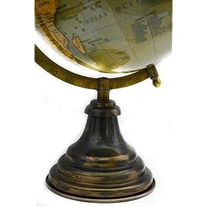 Lámpara verde de escritorio Decoración de la mesa (color giratoria World Globe 14«pulgadas Mapa del mundo con soporte por» El Sr. Globo «