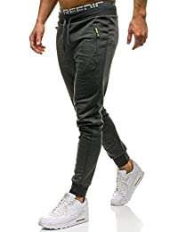 BOLF Pantalons de sport – Training – Sport – Jogging – Fitness – Motif – Homme [6F6]