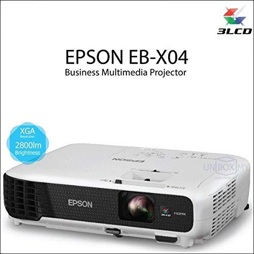 Epson EB-X04 3LCD Versatile Projector