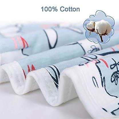 Lekebaby Manta Envolvente para Bebé y Recien Nacido – 2x Saco de Dormir Manta de Arrullo Cobija 100% Algodón – 0-6 Meses unisexo