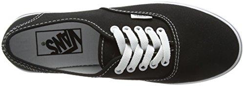Vans Authentique Lo Pro Classique Toile, Unisexe-adulte Noir Sneakers