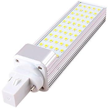 kingnew 25 LED de maíz – Bombilla G24 Introdujo Pera, SMD 2835 Introdujo lámpara, 5 W Introdujo iluminación de KTV Bar de Casa Habitación, 180 degeree CA 85 ...