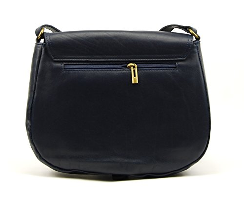OH MY BAG VINTAGE, Borsa a spalla donna Blu (blu scuro)