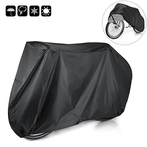 Preisvergleich Produktbild mixigoo Fahrradabdeckung Wasserdicht 210T Fahrradgarage Fahrrad Schutzhülle Wasserfest Schutz vor Staub Regen Schnee UV 190 x 98 x 65 cm mit Beutel