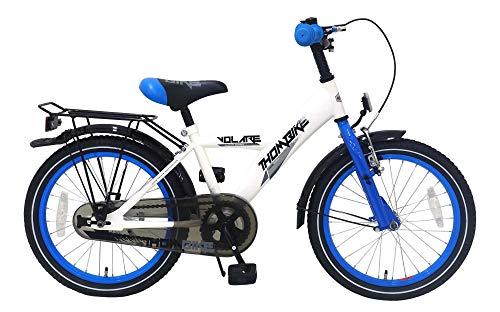 .Volare Bicicleta Niño 18 Pulgadas Thombike Portaequipajes