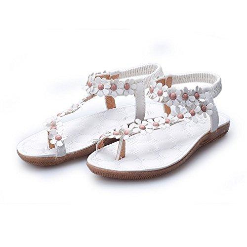 ZAMME , Bride de cheville femme Blanc - White 2