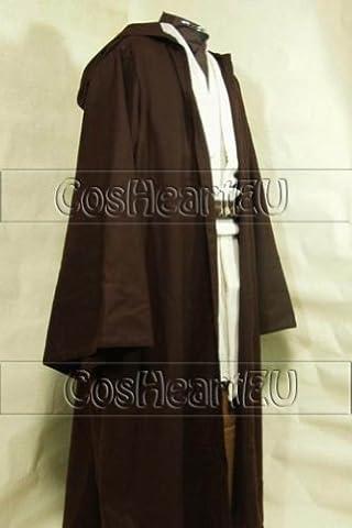 Star Wars Jedi Obi-Wan Costume TUNIQUE Homme L