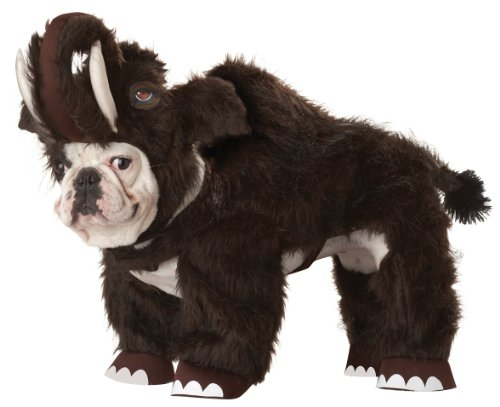 renen Mammoth Hund Kostüm, braun, X-Small, braun (Trick Or Treat Lustige Hunde Halloween)