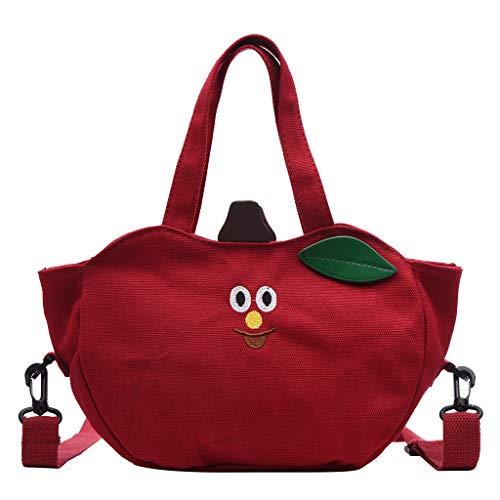XZDCDJ Crossbody Tasche Damen UmhängeTaschen Daypacks Damenmode Handtasche Muster Messenger Bag Volltonfarbe Umhängetasche