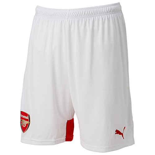 Replica Shorts with Innerslip White-High Risk Red, XL ()