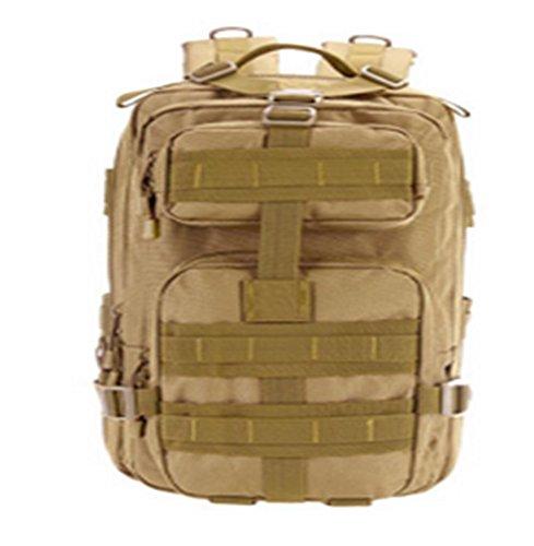 Nylontasche Multifunktions-Schultertasche wasserdicht Bergsteigen Taschen taktischer Außensporttasche Khaki
