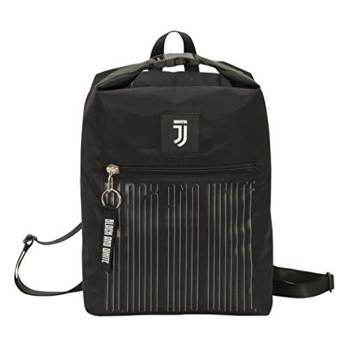 Seven Zaino Multy Backpack Black And White Juventus
