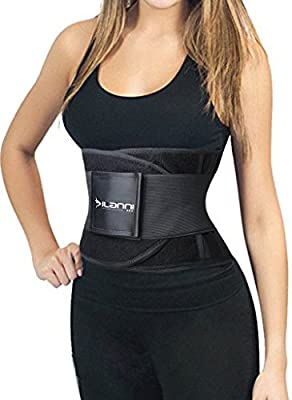 Dilanni Women Waist Trainer Cincher Belt Fitness Body Shaper For An Hourglass Shape
