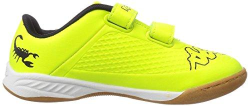 Kappa  VYPER K Footwear Kids, Sneakers basses mixte enfant Jaune - Gelb (4011 yellow/black)