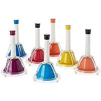 Percussion Workshop CB7 - Set de 7 campanas, multicolor