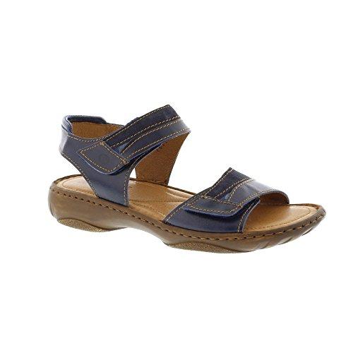 Josef Seibel Damen Debra 19 Braune Glattleder Sandale Größe 40 Grün (Khaki) s3myzc9o