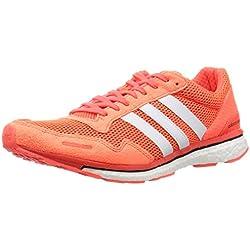 adidas Adizero Adios 3 M, Zapatillas de Running para Hombre, Rojo (Rojsol/Ftwbla / Negbas), 39 1/3 EU