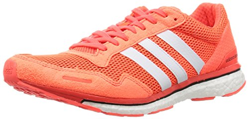 adidas Adizero Adios 3, Men's Competition Running Shoes, Orange (Solar Redfootwear Whitecore Black), 11 UK (46 EU)