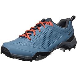 Shimano SHMT3OG440SB00, Zapatillas de Ciclismo de Carretera para Hombre, Azul (Blue), 44 EU