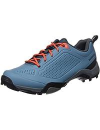 Shimano SHMT3OG450SB00, Zapatillas de Ciclismo de Carretera para Hombre, Azul (Blue), 44 EU