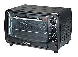 Black & Decker TRO50 1500-Watt 28-Litre Toaster Oven with Rotisserie