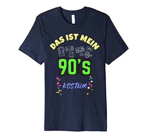 Das ist Mein 90er Jahre Kostüm Karneval T-Shirt Damen Kinder