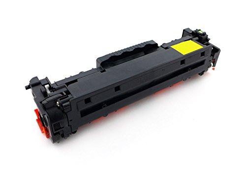 Green2Print Toner gelb 2800 Seiten ersetzt HP CC532A, 304A, CC532L, 304L passend für HP Color LaserJet CM2320NF, CM2320FXI, CP2025N, CP2025DN, CP2025 -