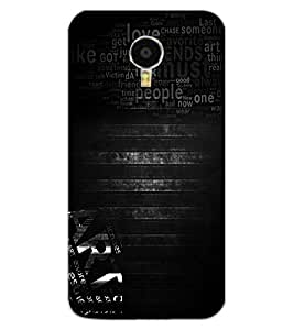 ColourCraft Typography Design Back Case Cover for MEIZU BLUE CHARM NOTE 3