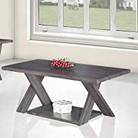 Jiwa Berani Ivan Coffee Table, Dark Gray (Ivn-Mid-DGy)