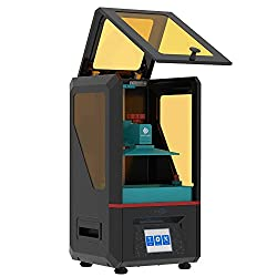 ANYCUBIC Photon 3D Printer, LCD Masking Technology with UK Plug + Free 250ml Resin (Upgrade Yellow Model)